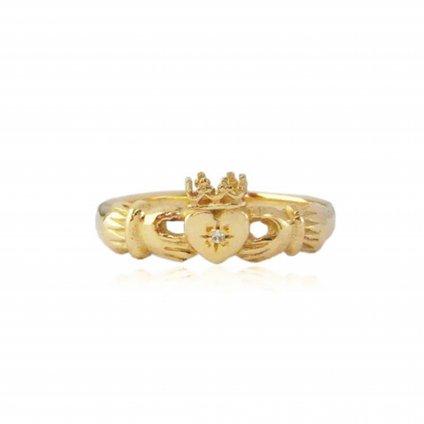 momocreatura Claddagh Ring Gold Diamond(モモクリアチュラ クラダリング ゴールド ダイヤモンド)