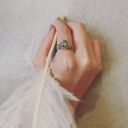 momocreatura Fede Skull Ring(モモクリアチュラ スカル フェデリング)
