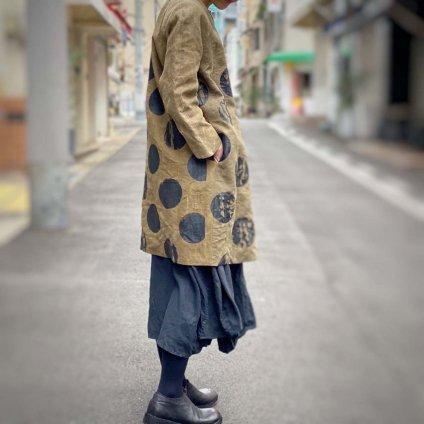 VINCENT JALBERT Dots Coat (ヴィンセント ジャルベール ドットコート) Khaki