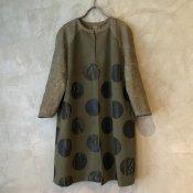 VINCENT JALBERT Dots Coat (ヴィンセント ジャルベール ドットコート) Green