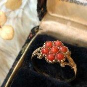 1913's Coral Antique Ring (1913年 コーラル アンティークリング)