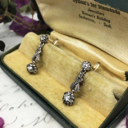 Edwardian 18K Diamond Pierce (エドワーディアン 18K ダイヤモンド ピアス)