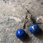 1920's Lapis Lazuli Swing Pierce (1920年代 ラピスラズリ スイングピアス)