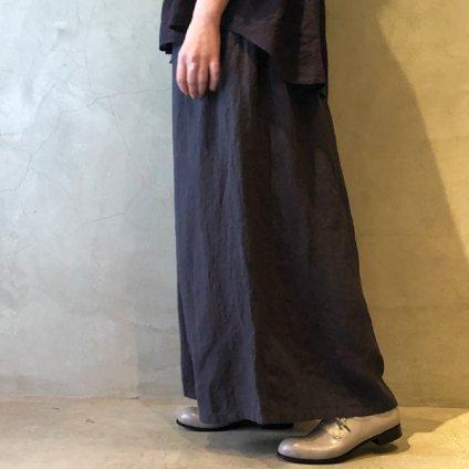 ikkuna/suzuki takayuki gathered pants(イクナ/スズキタカユキ  ギャザードパンツ)Charcoal Gray