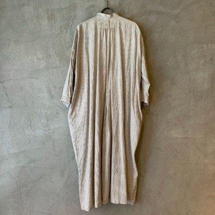 <img class='new_mark_img1' src='https://img.shop-pro.jp/img/new/icons13.gif' style='border:none;display:inline;margin:0px;padding:0px;width:auto;' />【予約販売】suzuki takayuki pesant dress ii(スズキタカユキ ペザントドレス ii)Nude Stripe