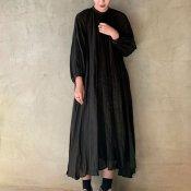suzuki takayuki flared dress(スズキタカユキ フレアドレス)Black