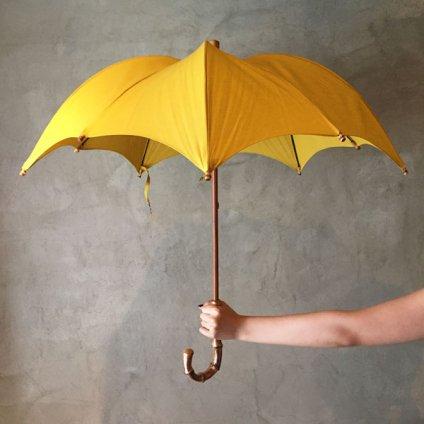 DiCesare Designs (ディチェザレデザイン) 晴雨兼用日傘 Kabocha 1TONE Gray