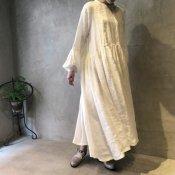 ikkuna/suzuki takayuki pullover dress(イクナ/スズキタカユキ プルオーバードレス)White