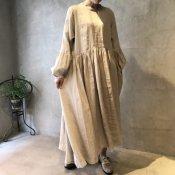 ikkuna/suzuki takayuki pullover dress(イクナ/スズキタカユキ プルオーバードレス)Nude