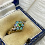 1920's 9K/Opal Antique Ring(1920年代 9K/オパール アンティークリング)