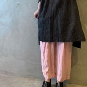 suzuki takayuki wide legged pants(スズキタカユキ ワイドレッグドパンツ)Pink/Unisex