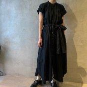 <img class='new_mark_img1' src='https://img.shop-pro.jp/img/new/icons13.gif' style='border:none;display:inline;margin:0px;padding:0px;width:auto;' />suzuki takayuki sleeveless dress ii(スズキタカユキ スリーブレスドレス)Black