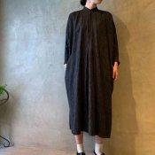 <img class='new_mark_img1' src='https://img.shop-pro.jp/img/new/icons13.gif' style='border:none;display:inline;margin:0px;padding:0px;width:auto;' />suzuki takayuki pesant dress ii(スズキタカユキ ペザントドレスii)Black Stripe