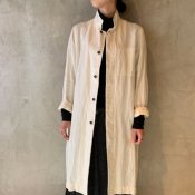 <img class='new_mark_img1' src='https://img.shop-pro.jp/img/new/icons13.gif' style='border:none;display:inline;margin:0px;padding:0px;width:auto;' />suzuki takayuki craftsman's coat(スズキタカユキ クラフツマンズ コート)Nude/Unisex