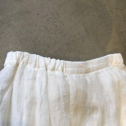 ikkuna/suzuki takayuki combination skirt(イクナ/スズキタカユキ コンビネーションスカート)White