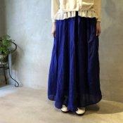 ikkuna/suzuki takayuki combination skirt(イクナ/スズキタカユキ コンビネーションスカート)Ultramarine Blue