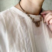 MIRIAM HASKELL Gold Metal Necklace(ミリアムハスケル ゴールドメタルネックレス)
