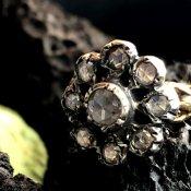 Victorian 18K/Dutch Rose Cut Diamond Antique Ring(ヴィクトリアン 18K/ダイヤモンド アンティークリング)