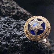 Victorian 14K/Opal/Diamond Antique Ring(ヴィクトリアン 14K オパール/ダイヤモンド アンティークリング)