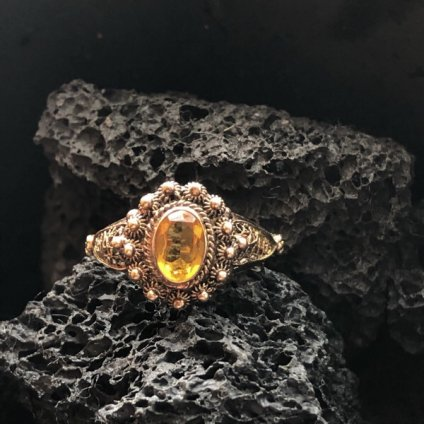 <img class='new_mark_img1' src='https://img.shop-pro.jp/img/new/icons13.gif' style='border:none;display:inline;margin:0px;padding:0px;width:auto;' />Victorian 19.2ct Gold Cannetille Antique Ring(ヴィクトリアン 19.2カラットゴールド カンティーユ アンティークリング)