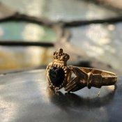c.1979 9K Onyx Claddah Ring(1979年 9K オニキス クラダリング)
