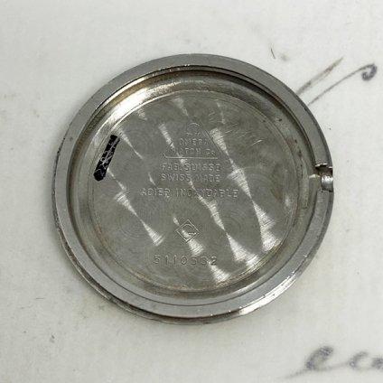 OMEGA DE VILLE(オメガ デビル)黒文字盤 純正尾錠付
