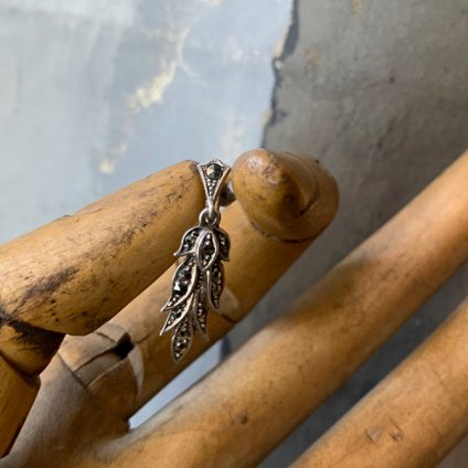 1930's Silver Marcasite earrings (1930年代 シルバー マーカサイト イヤリング)