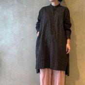 <img class='new_mark_img1' src='https://img.shop-pro.jp/img/new/icons13.gif' style='border:none;display:inline;margin:0px;padding:0px;width:auto;' />suzuki takayuki pullover shirt �(スズキタカユキ プルオーバーシャツ �)Black Stripe/Unisex