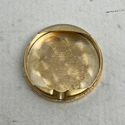 OMEGA(オメガ)14KYG ダイヤモンド カットガラス