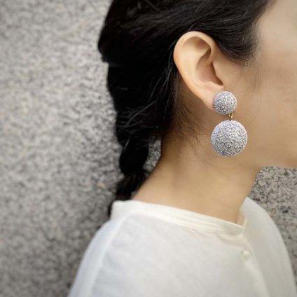 Cilea PARIS GALAXY Silver Swing Earrings(シレアパリ ギャラクシー シルバー スイングイヤリング)