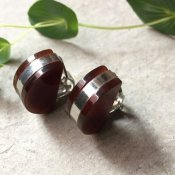 1960's Half Circle Earrings(1960年代 半円 イヤリング)