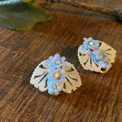 1960's Plastic Flower Earrings(1960年代 プラスチック フラワー イヤリング)