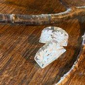 1960's Lucite Flower Earrings(1960年代 ルーサイト フラワー イヤリング)