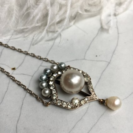 Edwardian Pearl Necklace(エドワーディアン パール ネックレス)