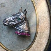1950's Silver Horse Brooch(1950年代 シルバー ホース ブローチ)