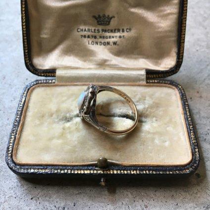 1930's Silver/Marcasite/Opal Ring(1930年代 シルバー/マーカサイト/オパール リング)