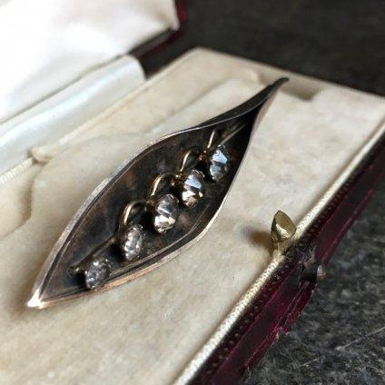 1960's Silver Gilt Brooch(1960年代 シルバーギルト ブローチ)