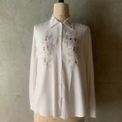 1970's Fairies Embroidery Blouse(1970年代 小人刺繍ブラウス)