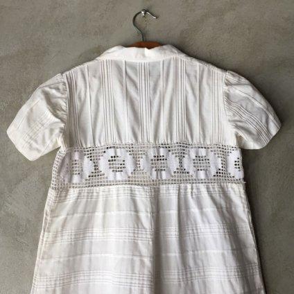 Vintage Open Collar Children's Dress(ヴィンテージ オープンカラー 子ども用ワンピース)