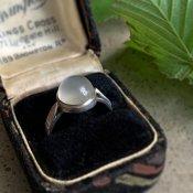 1920's Silver Moonstone Ring(1920年代 シルバー ムーンストーン リング)