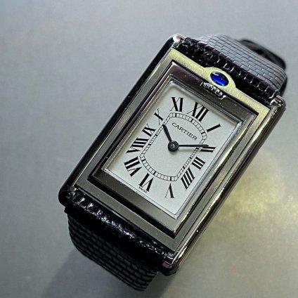 Cartier TANK BASCULANT(カルティエ タンク バスキュラント)SM