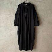 suzuki takayuki slip-on dress (スズキタカユキ スリップオンドレス)Black