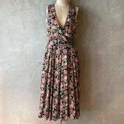 Vintage Flower Pattern Dress(ヴィンテージ 花柄ワンピース)