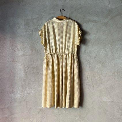 1950's  Plaid Dress(1950年代 チェック柄ワンピース)