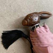 Guy de Jean (ギドゥジャン) 折りたたみ傘 ウサギ Pink