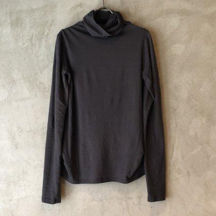 ikkuna/suzuki takayuki turtle-neck t-shirt(イクナ/スズキタカユキ タートルネック Tシャツ)Charcoal Gray