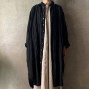 suzuki takayuki long shirt(スズキタカユキ ロングシャツ)Black/Unisex