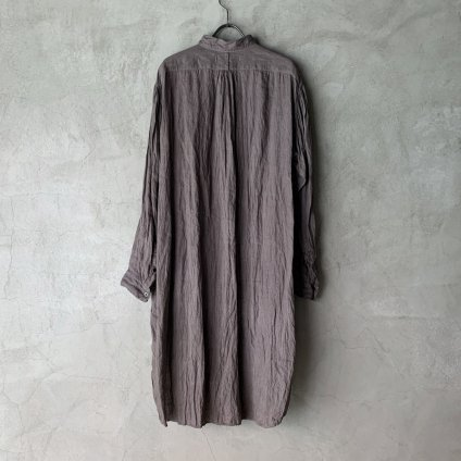 suzuki takayuki long shirt(スズキタカユキ ロングシャツ)Grey/Unisex