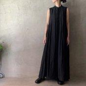 suzuki takayuki sleeveless dress(スズキタカユキ スリーブレスドレス)Black