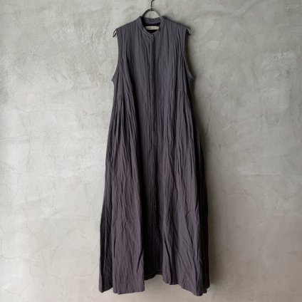 suzuki takayuki sleeveless dress(スズキタカユキ スリーブレスドレス)Grey